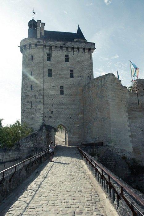 chateau de la Loire, Forteresse royale de Chinon, Touraine Loire Valley, France