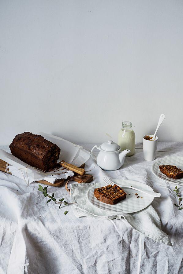 Cake chocolat noisettes