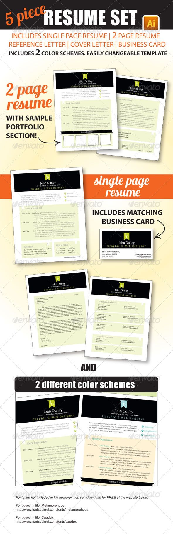 40 best resume templates images on pinterest cv template free