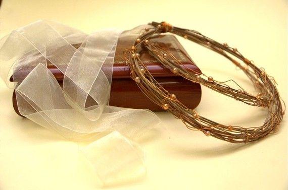 STEFANA Wedding Crowns Bridal Crowns for Christian by LenaWeddings