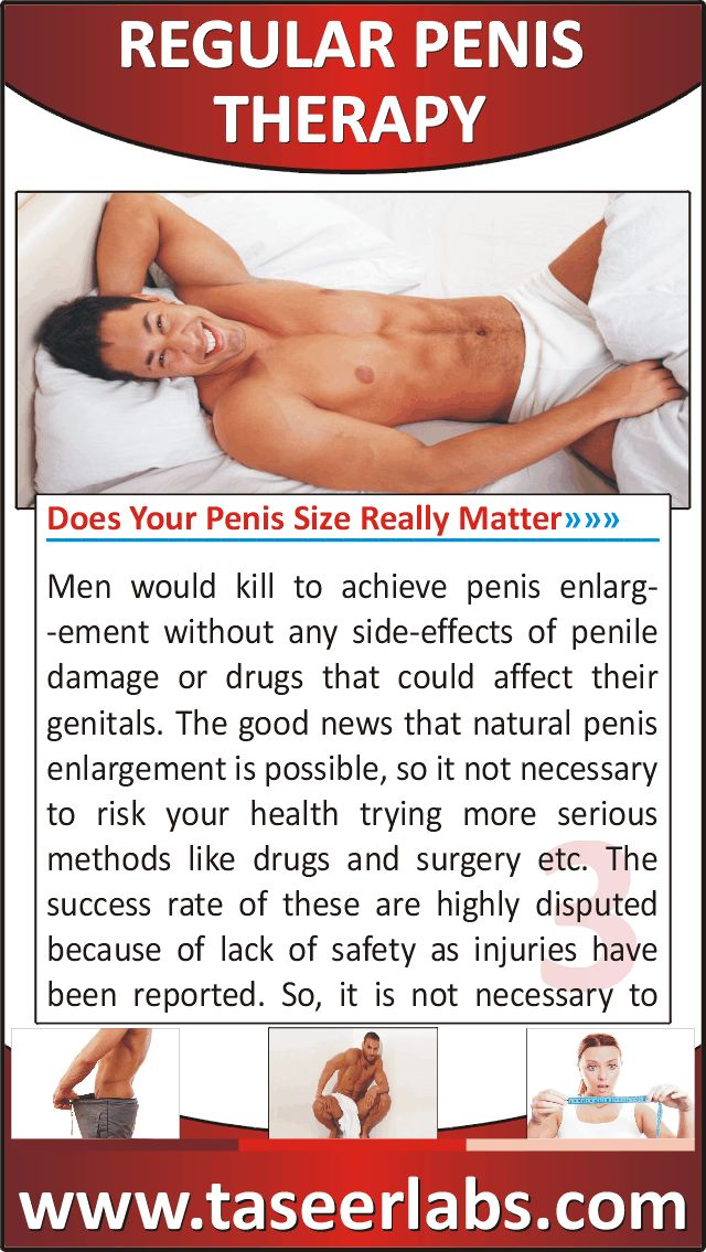 Increased Erect Penis Length And Girth, And Increase In -1484
