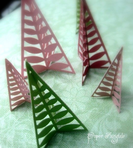 Oh Christmas Tree - Paper decorations