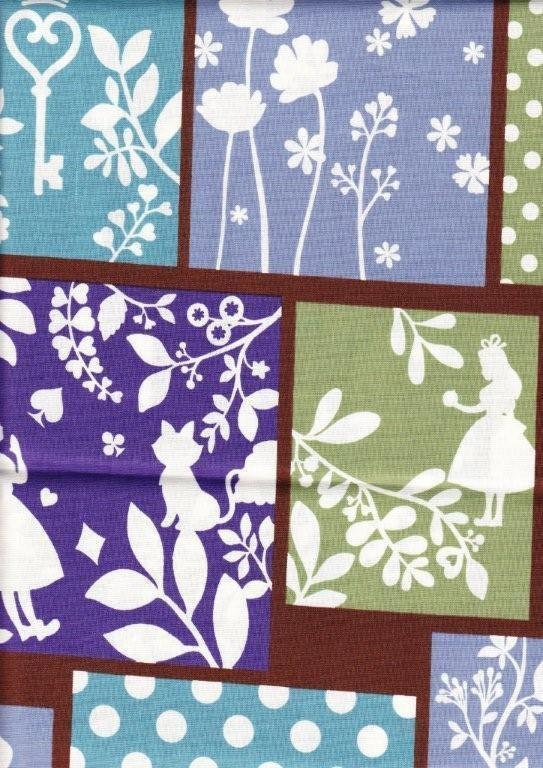 84 Best Alice In Wonderland Fabrics Ideas Images On