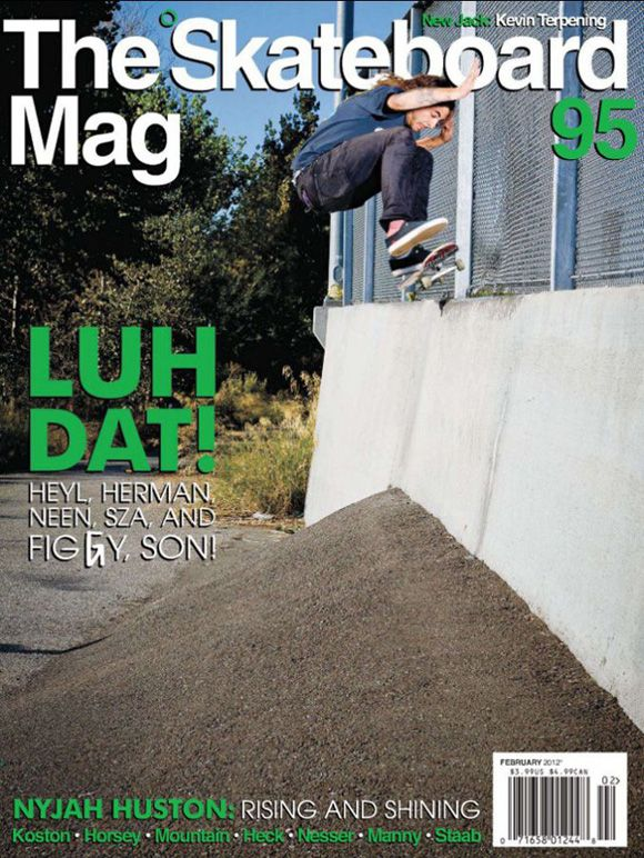 Figgy The Skateboard Mag Cover | Blog | Active Ride Shop