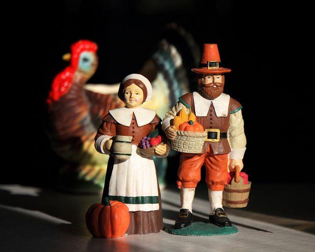Thanksgiving figurines