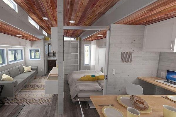 Aurora : une Tiny House extensible