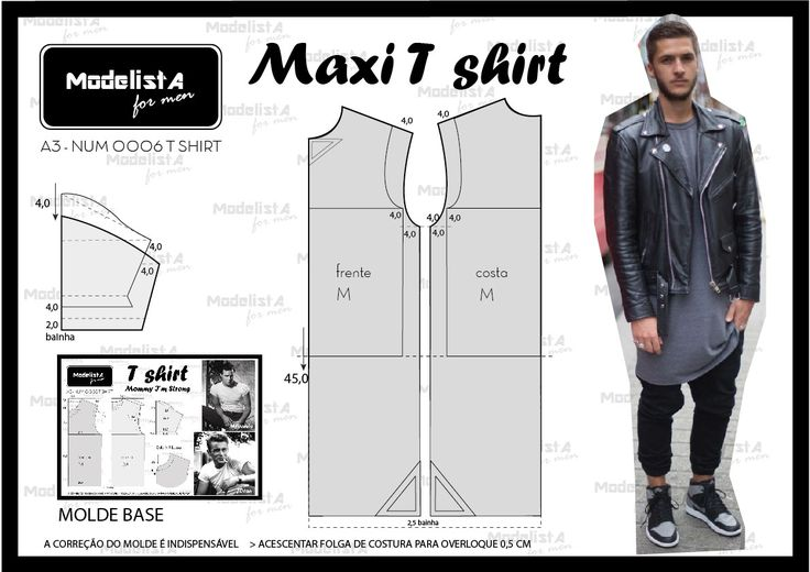 ModelistA: A3 NUM 0006 MAXI TSHIRT