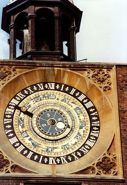 Astronomical Clock, Hampton Court Palace, London, UK | Flickr - Photo Sharing!