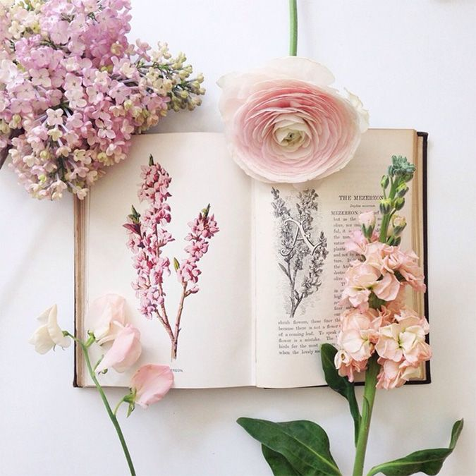 floral study | image by @aquietstyle on instagram, via laurenconrad.com