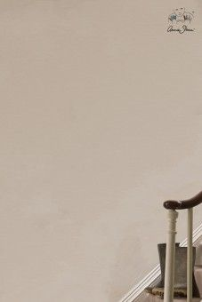 Een verdonkerde crème-kleur waar veel andere kleuren goed mee combineren  Wall Paint is een uiterst sterke muurverf op waterbasis. Opgewassen tegen slijtage door het drukke gezinsleven, plakvingers en natte honden. Ideaal dus voor keukenmuren, badkamers, gangen en trappen. Het is robuust, makkelijk in gebruik en heeft prachtige matte finish met een vleugje glans. Verkrijgbaar in 2,5 liter en 100 ml.