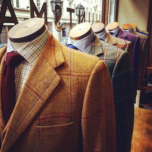Huntsman, Savile Row.