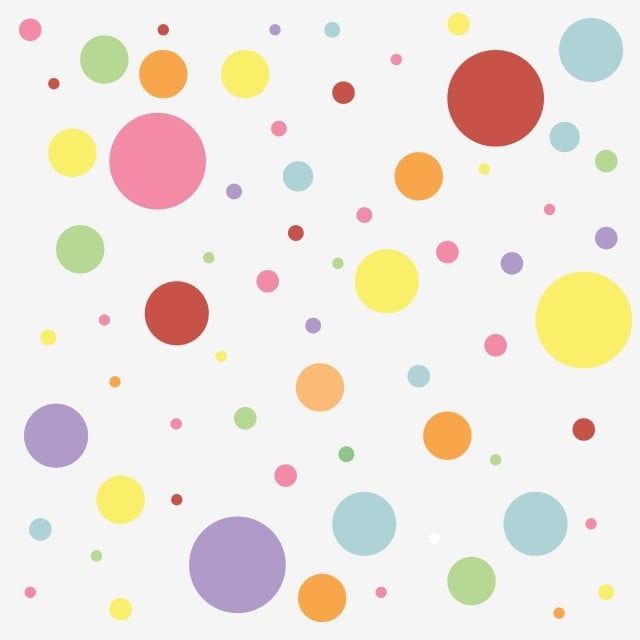 Colourfull Polkadot Pattern Illustration Polka Color Png And Vector With Transparent Background For Free Download Pola Pembuatan Pola Seni