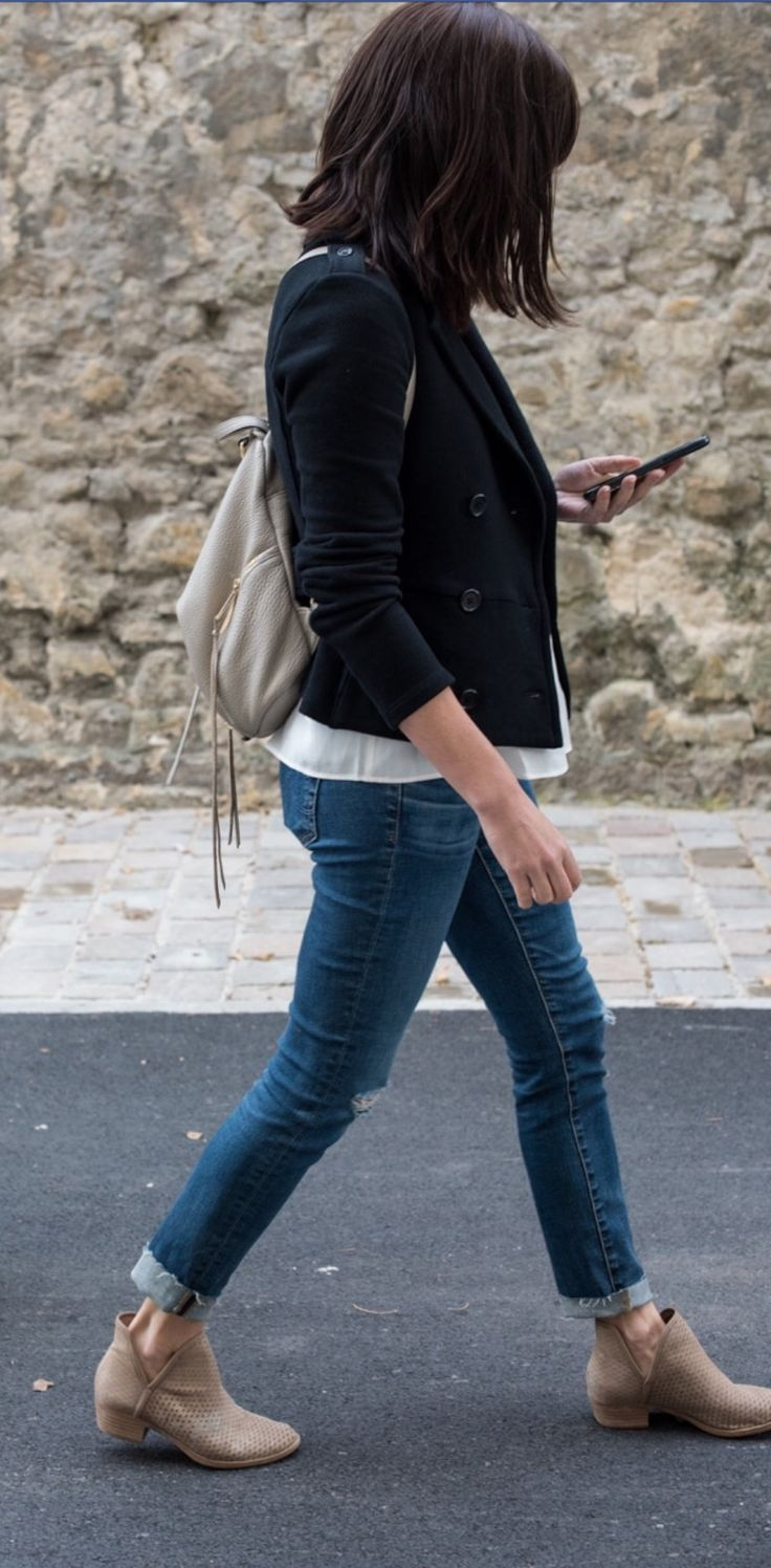Roll Skinny Jeans To Wear W Ankle Boots This Way Lucky