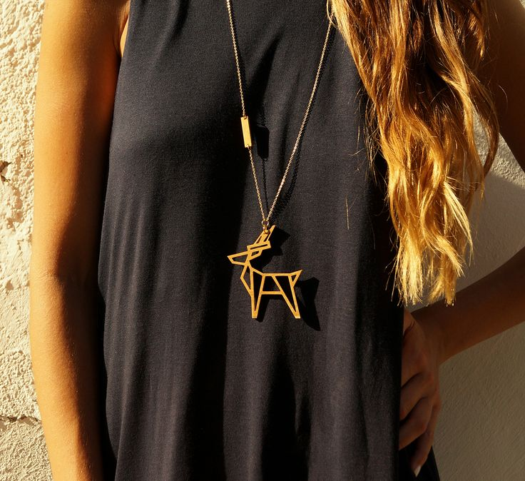 artemis necklace // wooden pendant - Artemis, Goddess of Hunting and Protector of Nature, has been identified with velocity and wild beauty. Run as fast as a deer, Artemis's sacred animal!