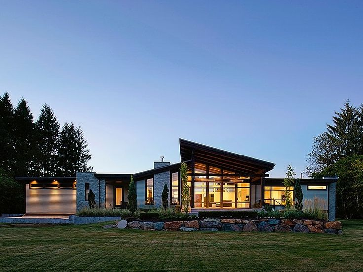Best Modern Contemporary Homes Ideas On Pinterest Modern - Modern exterior house design with stone