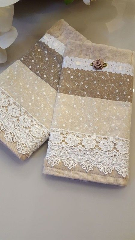 Kit de toalha para lavabo e rosto