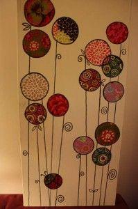 Decoupage Tissue/Napkin Idea