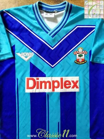 Official Pony Southampton away football shirt from the 1993/1994 season.