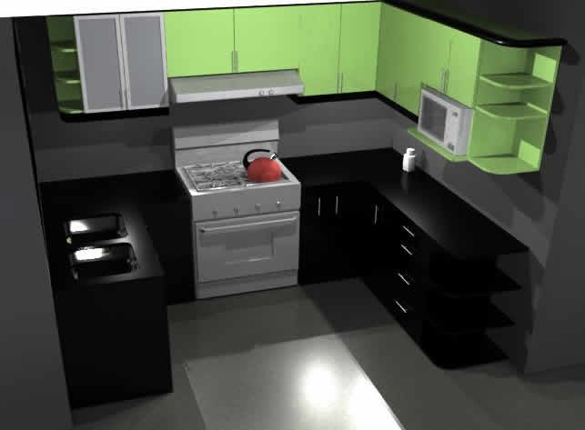 Cocinas diseñadas para departamentos. #DF #espaciosanisidro