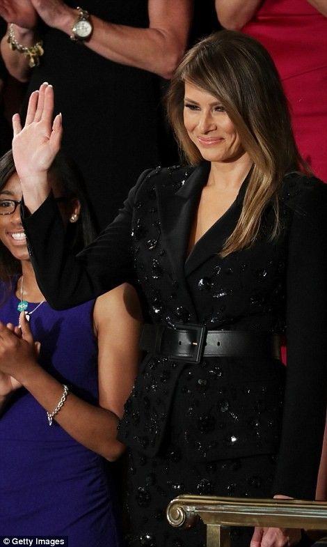 Arrived Congress Standing ovation First Presidential Speech