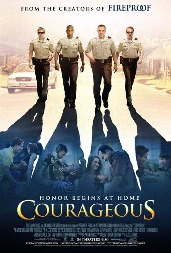 CourageousMovie Posters, Police Offices, Awesome Movie, Christian Movie, Families Movie, Courage, Favorite Movie, Life Change, Alex O'Loughlin