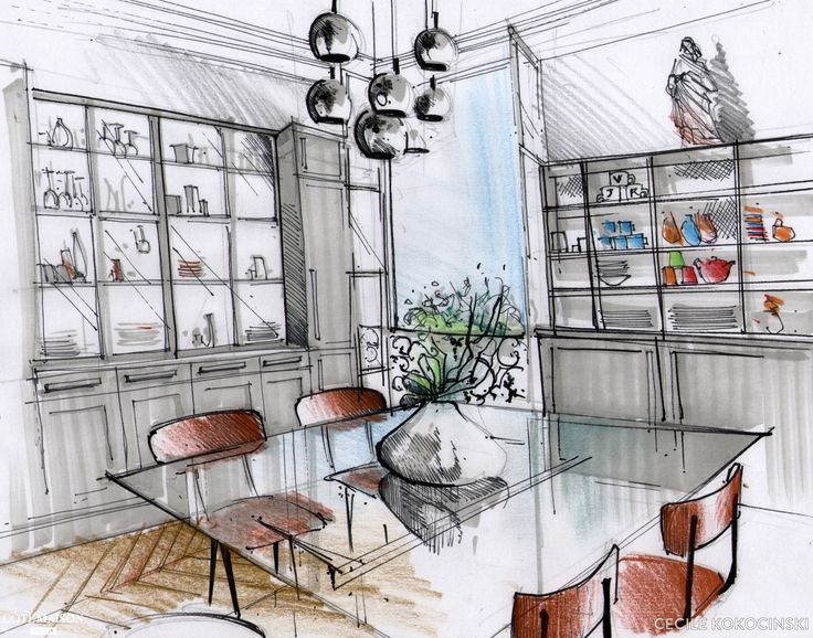 Une vraie cuisine conviviale et chic à la façon d'une salle à manger, Paris, Cécile Kokocinski - décorateur d'intérieur