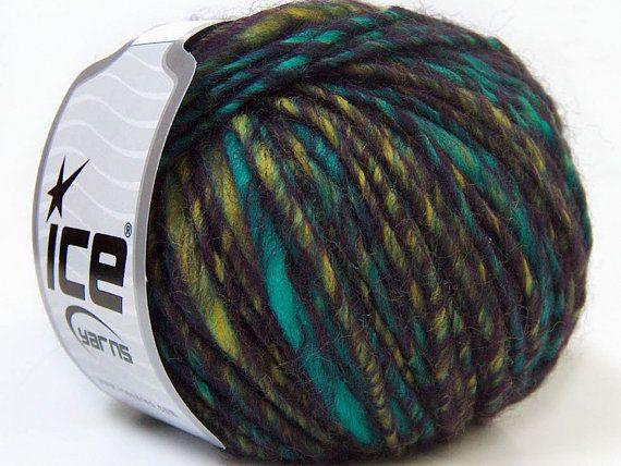 Yarn Knitting Yarn Perfido wool yarn by specialyarnshop on Etsy, $5.00