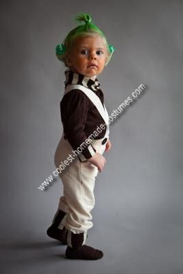 Oompa Loompa Costume: Loompa Costumes, Good Things, Homemade Classic, Costumes Inspiration, Inspiration Boards, Classic Oompa, Baby Halloween Costumes, Oompa Loompa, Kids Costumes