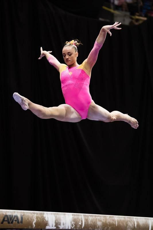 Maggie Nichols--2016 P&G Championships night 1