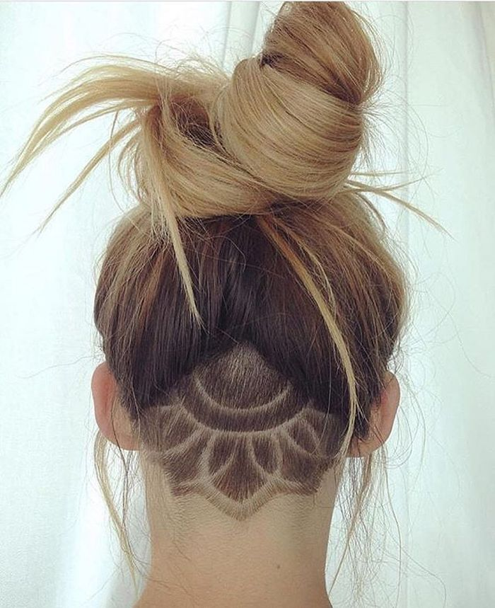hair tattoos ideas