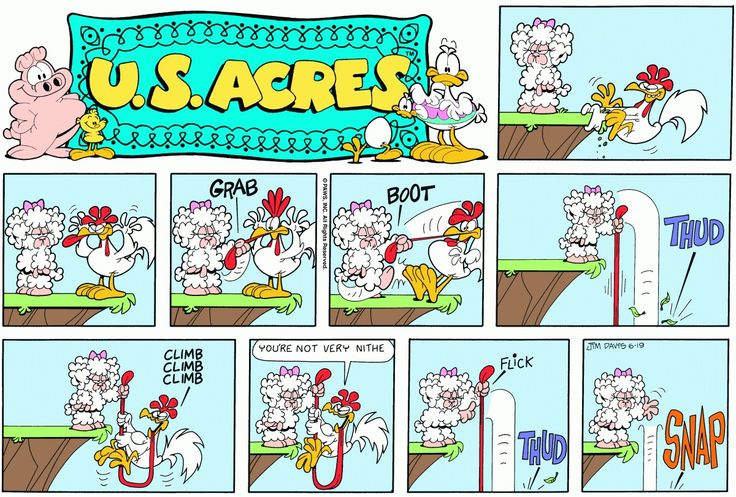 U.S. Acres (Comic Strip) - TV Tropes