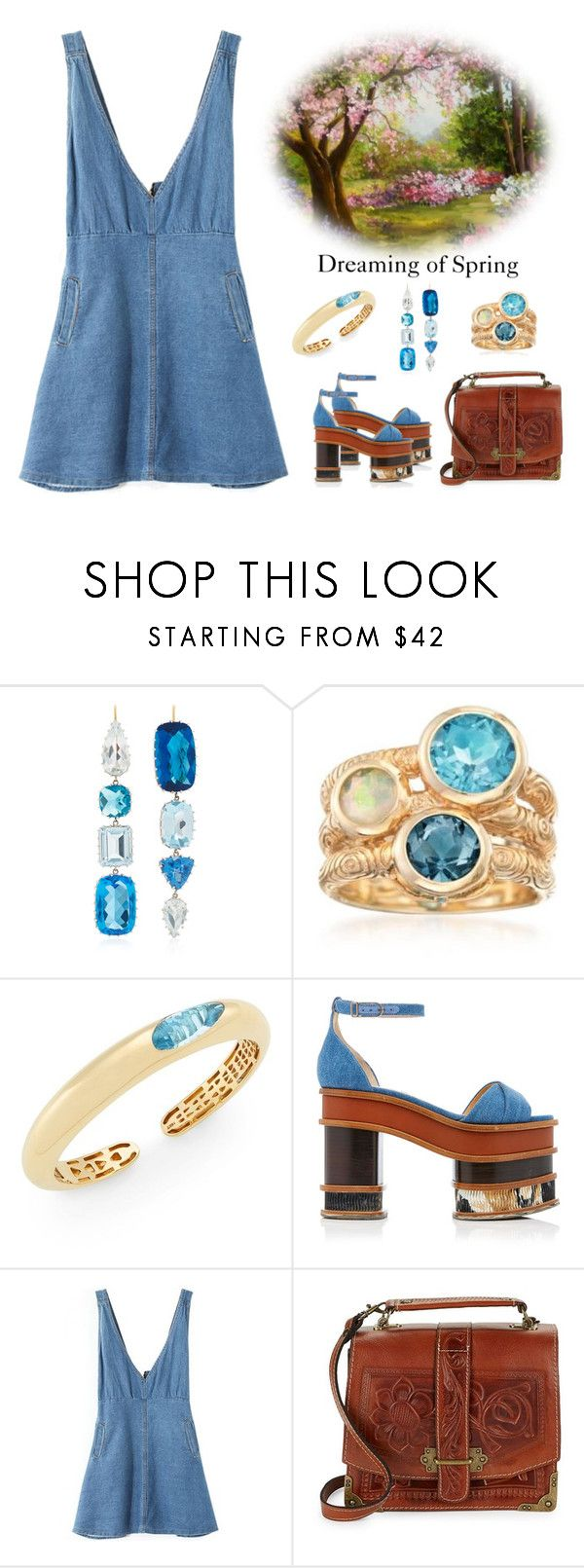 """""""Is it Spring yet?"""" by karen-galves ❤ liked on Polyvore featuring Renee Lewis, Ross-Simons, Roberto Coin, Gabriela Hearst and Patricia Nash"""