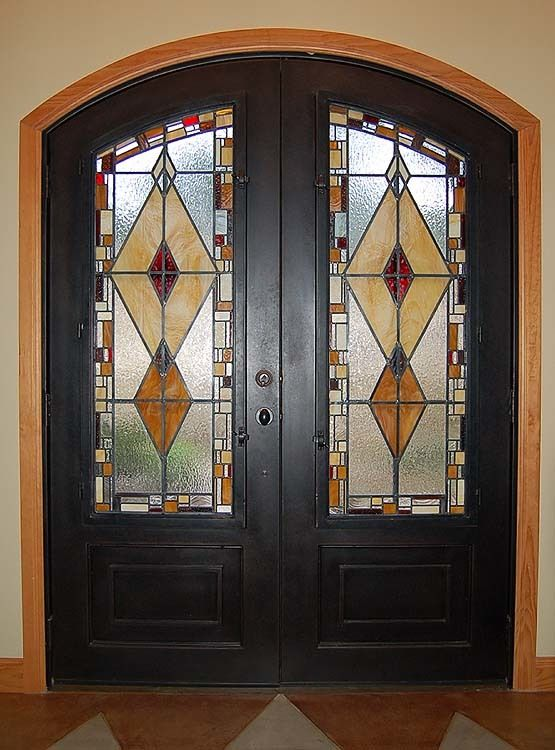 Best 100 Stained Glass Front Doors Images On Pinterest