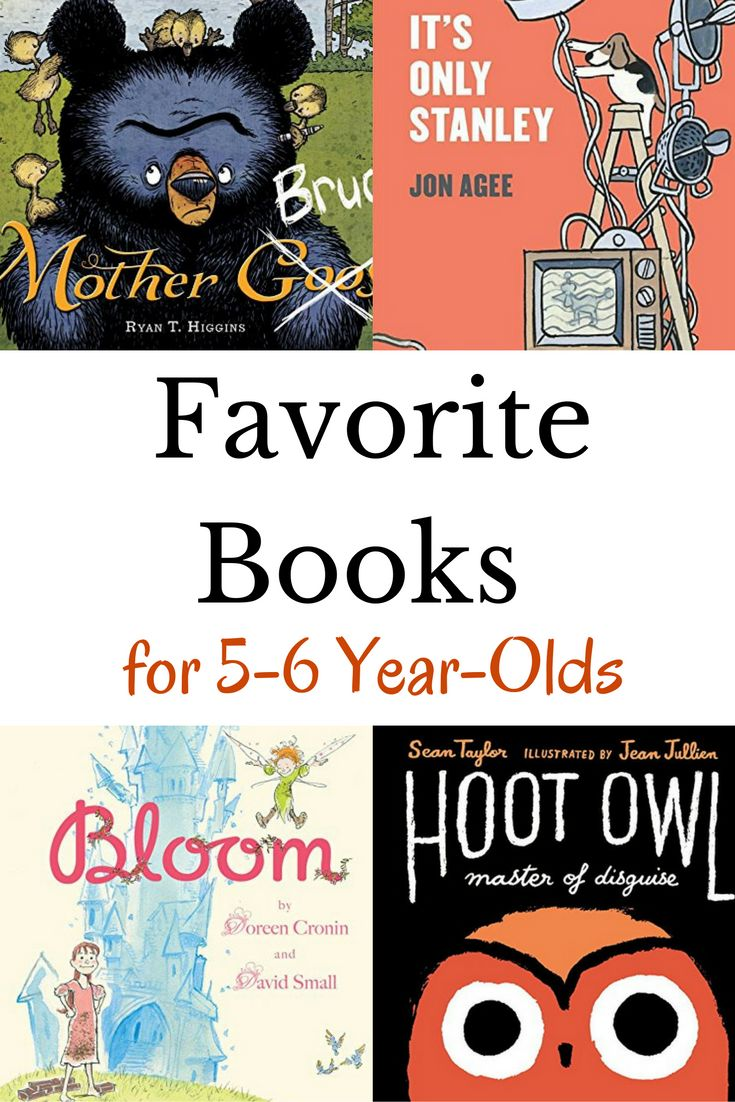 favorite books for 5 year olds a book list that will young kids will