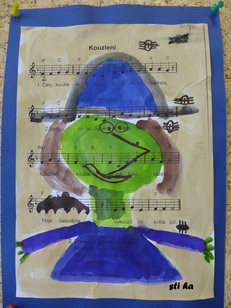 portrét čarodějnice
