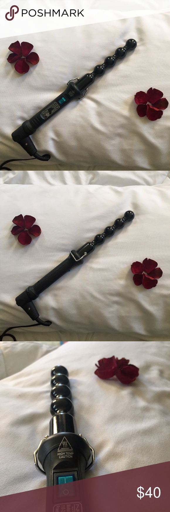 Classic NuMe Pearl Curling Wand perfect condition- only used a handful of times NuMe Accessories Hair Accessories