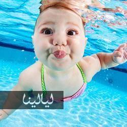 أظرف 20 صورة ترونها على الإطلاق لأطفال رضع تحت الماء