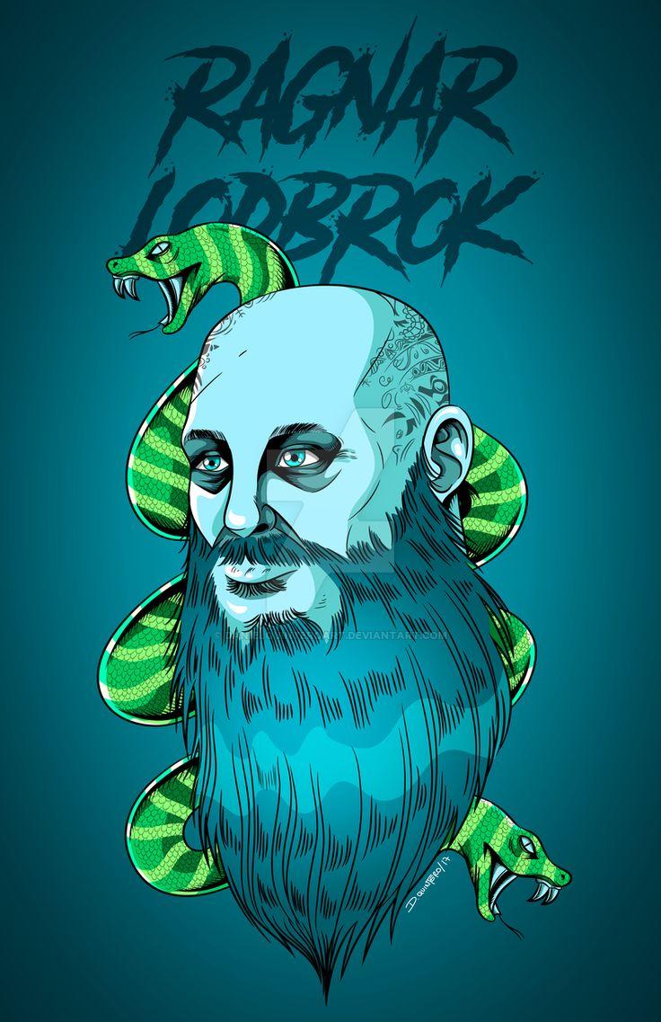 Ragnar Lodbrok  #Comic #Comics #vectores #Vector #illustrations #illustration #ragnar #vikings #Viking #adobe #adobeillustrator #colombia #cucuta