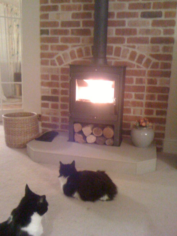 No Fireplace Fireplace!