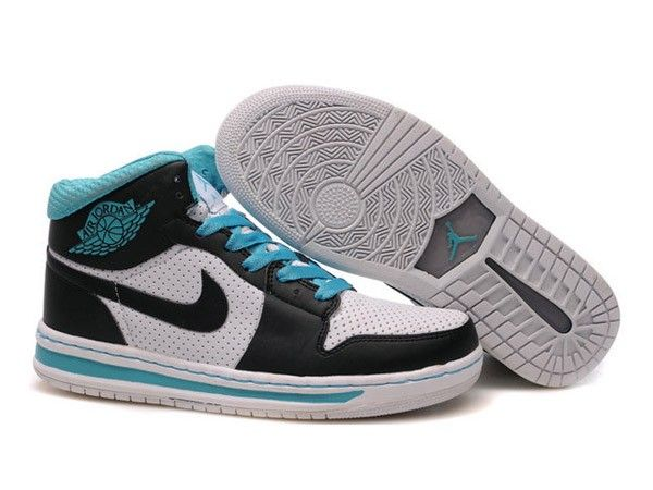 F4T6J076 authentique Nike Air Jordan 1 Retro Blue Lake Chaussures Hommes, nike air jordan retro 1 pas cher