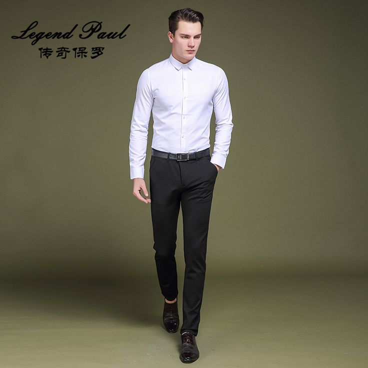 Business formal men casual long pants fashion mens evening dress high quality groom trousers suit pants