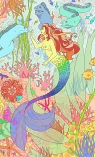 Water by Megan Kelley via Illustration Friday