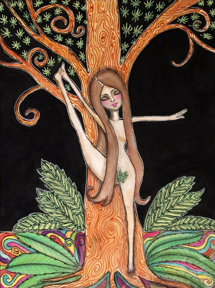 Tree Yogi by Jeanette MacDonald Art