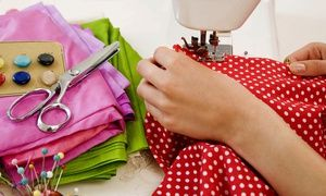 Groupon - The London Sewing Room: Fabric Design or Dressmaking Workshop for £49 (Up to 63% Off) in London. Groupon deal price: £49