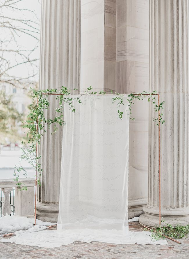 Elegant Courthouse Elopement - Inspired By This