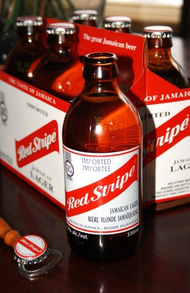 One of the best beers: Red Stripe Beer