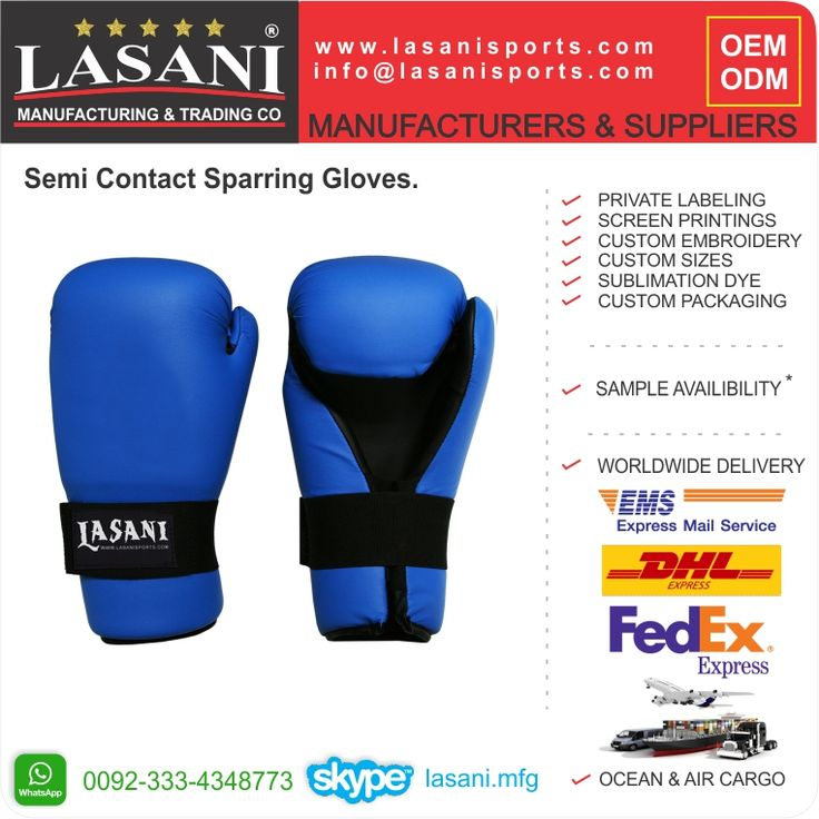 Sparring gear manufacturer and exporters, Semi contact gloves, open hand , karate supplies, karate gloves, and protections. www.lasanisports.com