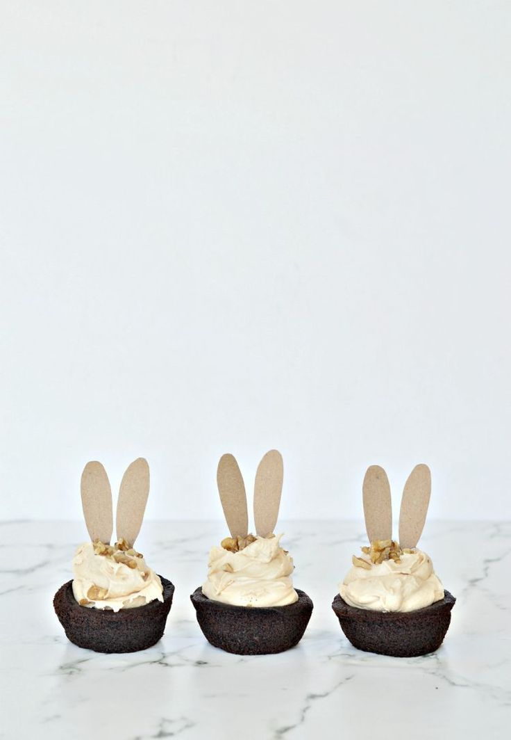 Chocolate cupcakes with salted caramel buttercream - DIY home decor - Your DIY Family