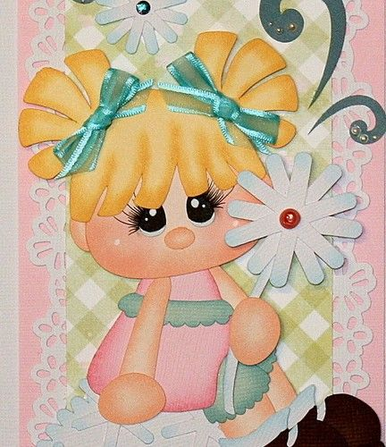 """""""Make a Wish"""" vertical border for scrapbook pages."""