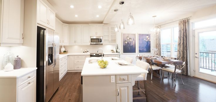 The Berkley Kitchen In Riviera Trico Homes Check Out The New